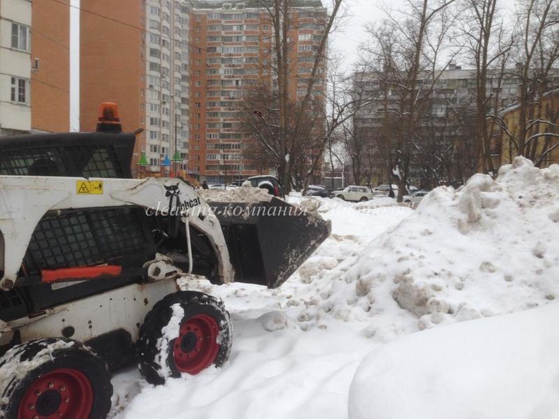 Уборка снега трактором в ставрополе