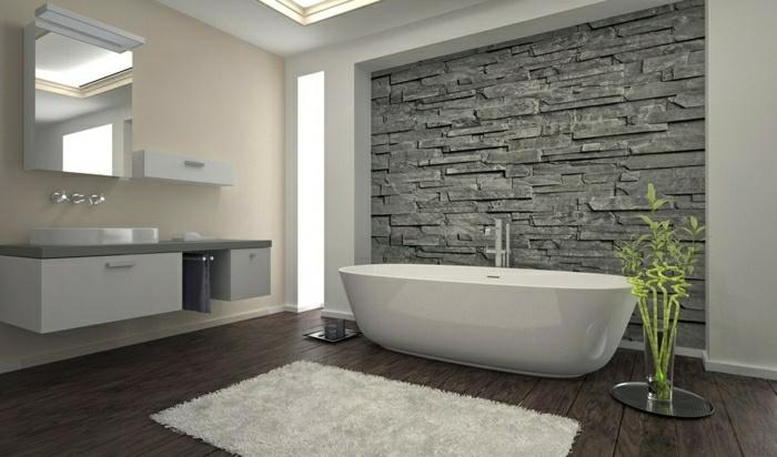 revetement mural salle de bain resine - inspiration du blog